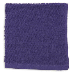 Terry Dishcloths - Pack of 12 - Purple