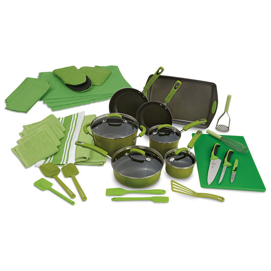 Color-Coded Kitchen Supplies Director's Kit - Green