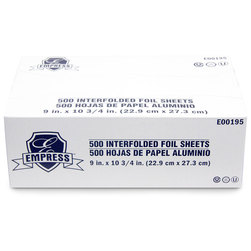 Pop-Up Precut Foil Sheets - 9 in. x 10-3/4 in.