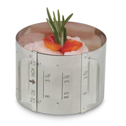 HIC Round Adjustable Food Ring