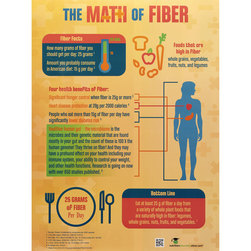 The Math of Fiber Poster
