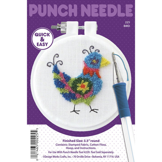 Punch Needle Embroidery Kit - Bird