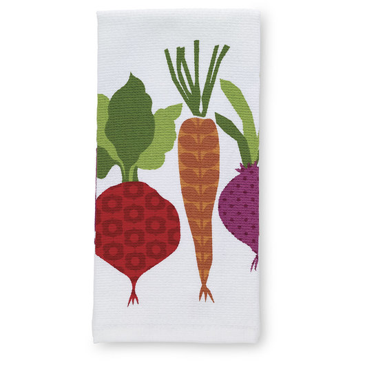 T-fal® Kitchen Towel - Prints - Vegetables - 16 in. x 26 in.