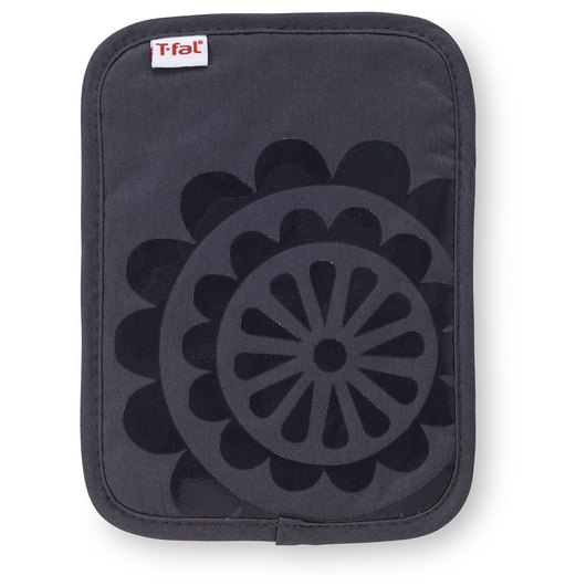 T-fal® Silicone Pot Holder - 9 in. x 6-3/4 in. - Charcoal