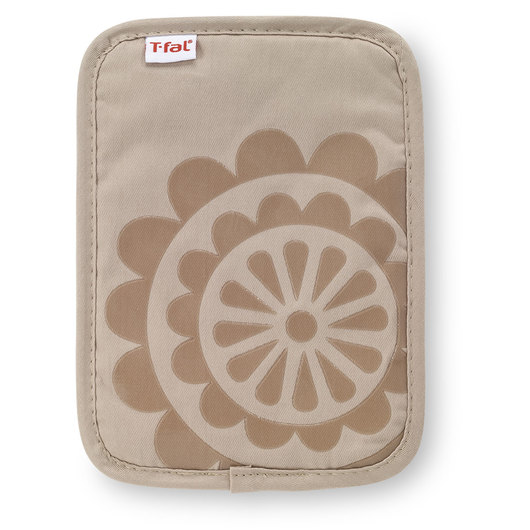 T-fal® Silicone Pot Holder - 9 in. x 6-3/4 in. - Sand