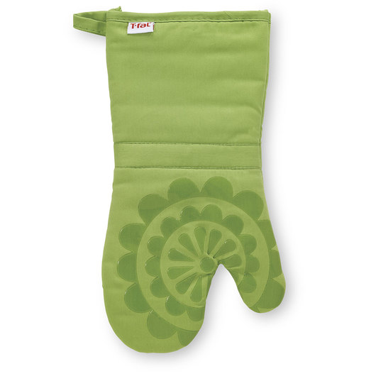 T-fal® Silicone Oven Mitt - 12-3/4 in. x 7 in. - Green