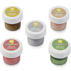Wilton® Edible Cake Paint - Metallic Colors