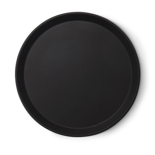 Cambro® Camtrays® - Round Serving Tray - Black - 11 in. Dia.