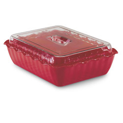 Cambro® Crock - Red - 4.9-Qt.