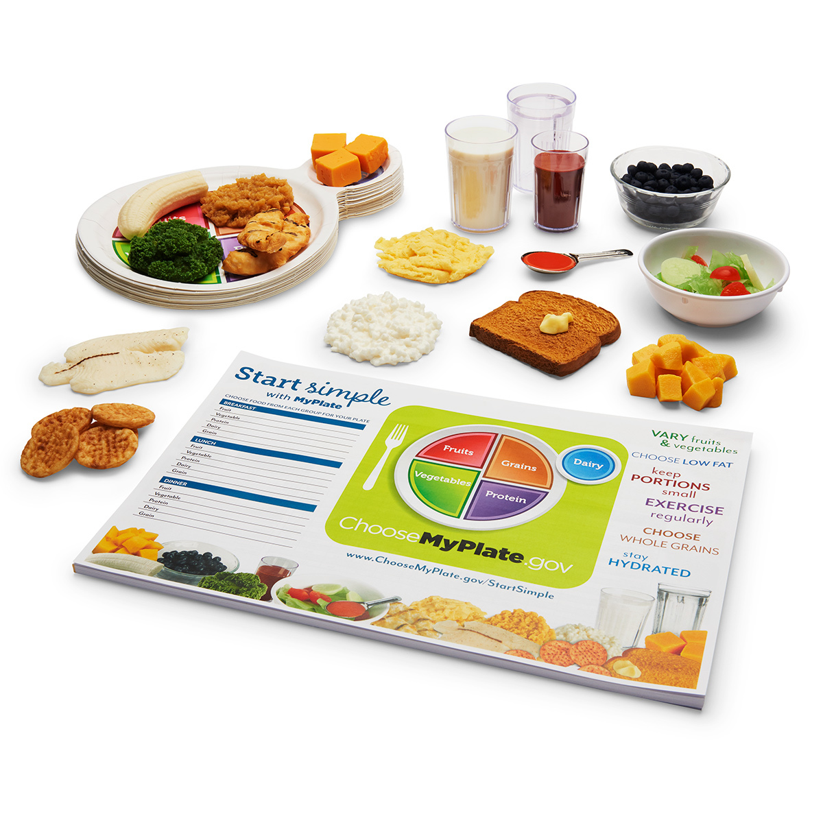 Nutrition April Special - Start Simple with MyPlate Kit - WA35400