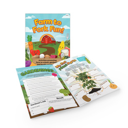 Farm to Fork Fun Activity Book Set
