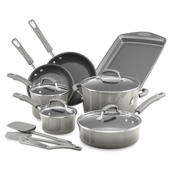 Rachael Ray® Classic Brights Porcelain Nonstick 14-Piece Cookware