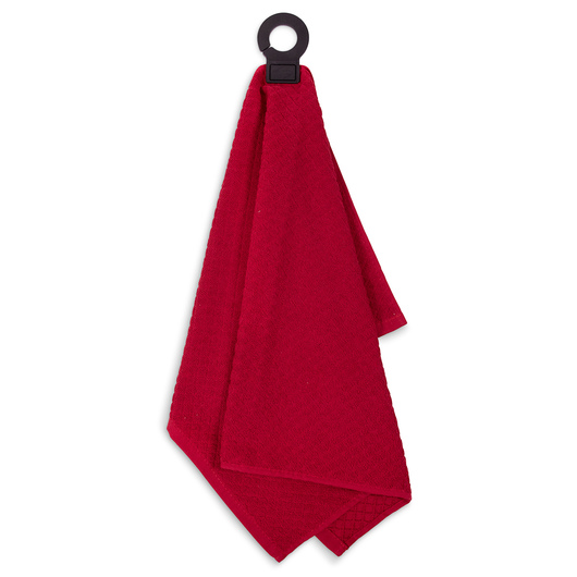 Ritz® Hook and Hang™ Kitchen Towels - Red