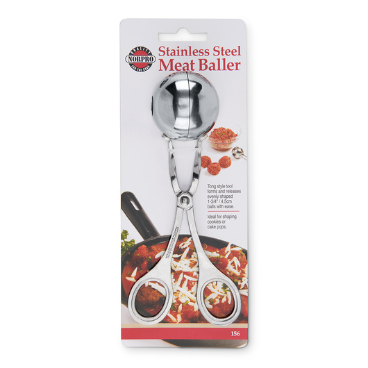 Stainless Steel Meat Baller - 1-3/4 in.