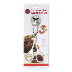 Stainless Steel Meat Baller - 1-1/4 in.