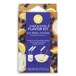 Witon® Cake and Icing Flavor Kit - Lemon, Blueberry, and Cream Cheese
