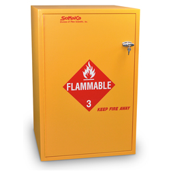 SciMatCo Safety Flammables Floor Cabinet