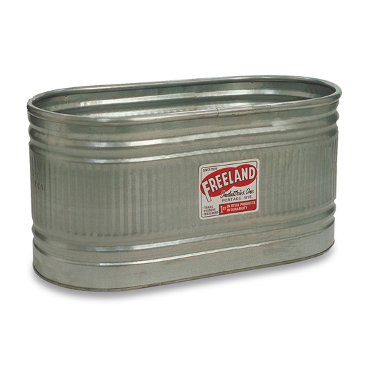 Freeland® Galvanized Stock Tank - 118-gal. Capacity