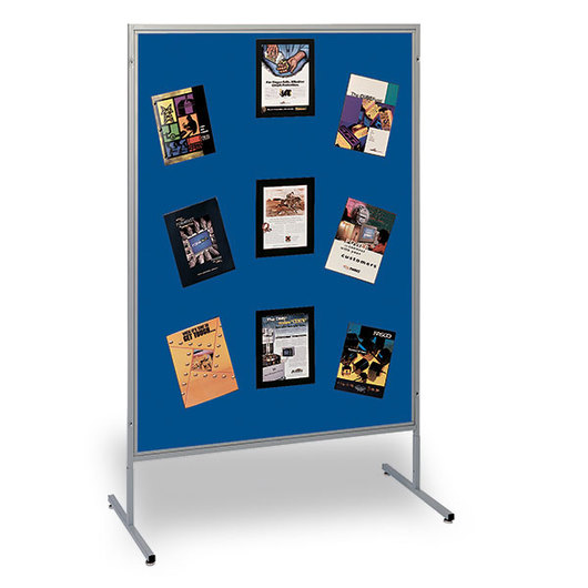 The Miller Group Multiplex® Panel - 48 in. W x 66 in. H - Blue Fabric