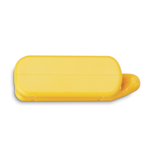 Yellow Blank Cattle Temple Livestock Identification Tags for Color-Coding Group