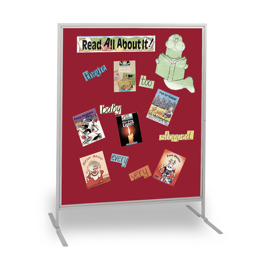 The Miller Group Child-Size High Panel - Red Fabric