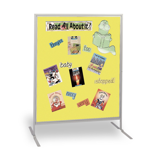The Miller Group Child-Size High Panel - Yellow Fabric