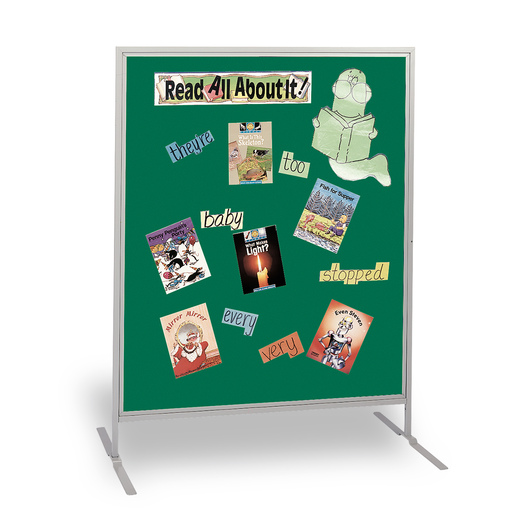 The Miller Group Child-Size High Panel - Green Fabric