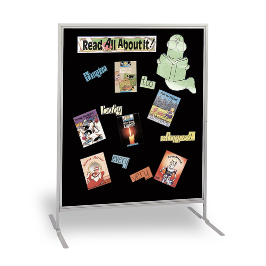 The Miller Group Child-Size High Panel - Black Fabric