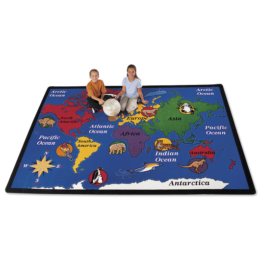 World Explorer Rug - Rectangle, 8 ft. 4 in. x 11 ft. 8 in.