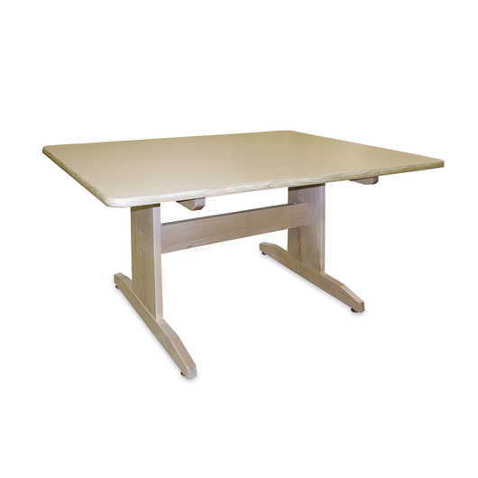 Hann Art Table without Bookshelves - 24 in. x 60 in. x 29-3/4 in.