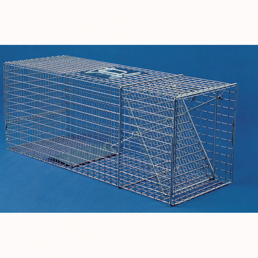 Safeguard Humane Box Trap - 48 x 15 x 22 H