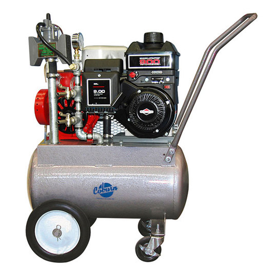 Porta-Milker Vacuum Pump for One Milking Machine with Four-Wheel Base - Gas Motor