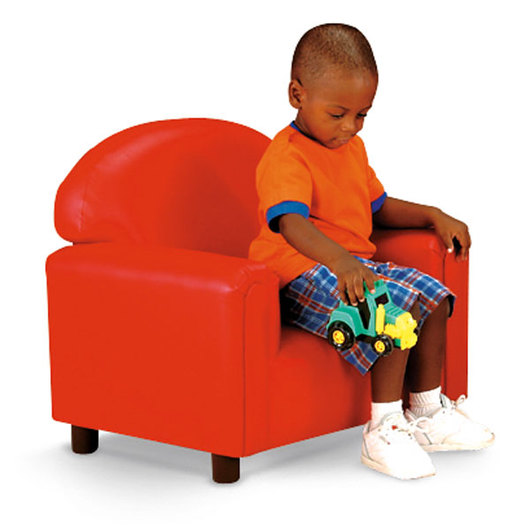 Nasco Preschool Vinyl Furniture - Red Chair