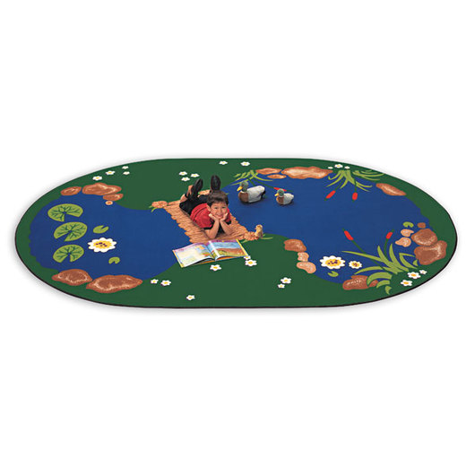 Pond Carpets - 8 ft. 3 x 11 ft. 8 Oval