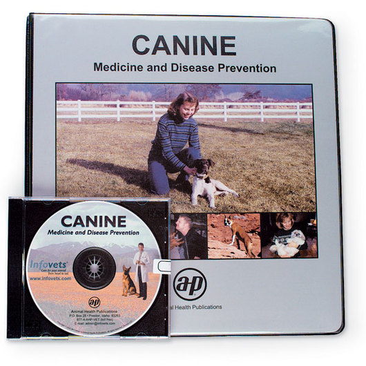 Canine Printed Manual and CD-ROM