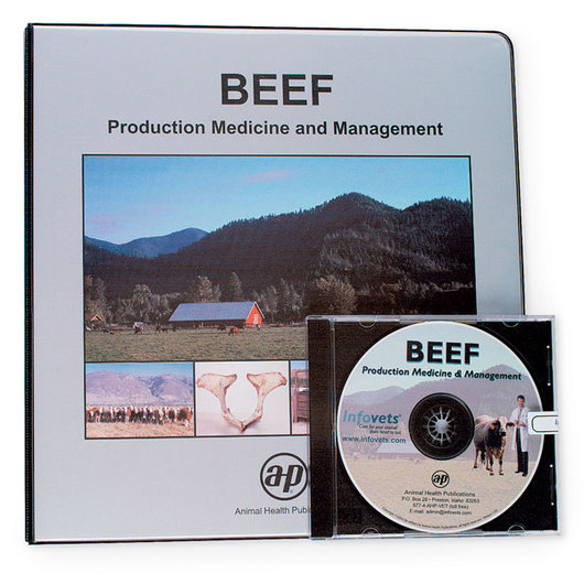 Infovets™ Beef Medicine and Management Printed Manual and CD-ROM