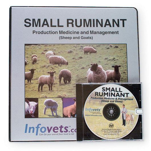 Infovets™ Small Ruminant Medicine and Management Printed Manual and CD-ROM