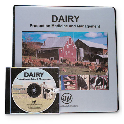 Infovets™ Dairy Medicine and Management Online Manual and CD-ROM