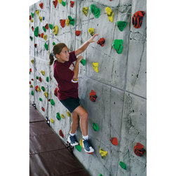 Climbing Walls Superior Rock Panel - 8 ft. H x 40 ft. W