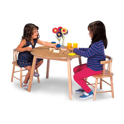 Whitney Brothers Wooden Table & Chairs Set