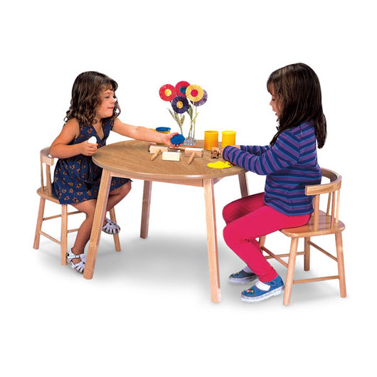 Whitney Brothers® Wooden Table & Chairs Set