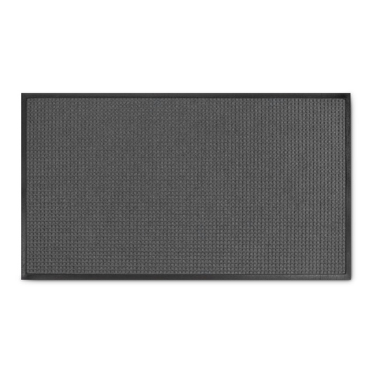 Water Absorbing Spongemat - 2 ft. x 2 ft. 10 in. - Gray