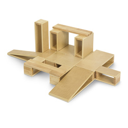 Giant 18-Piece Hollow Block Set