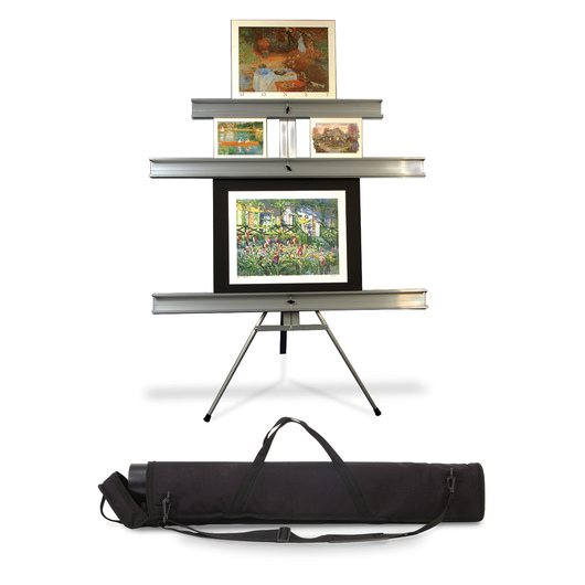 Portable Gallery and Exhibit Wall | Display Easels & Pedestals ...