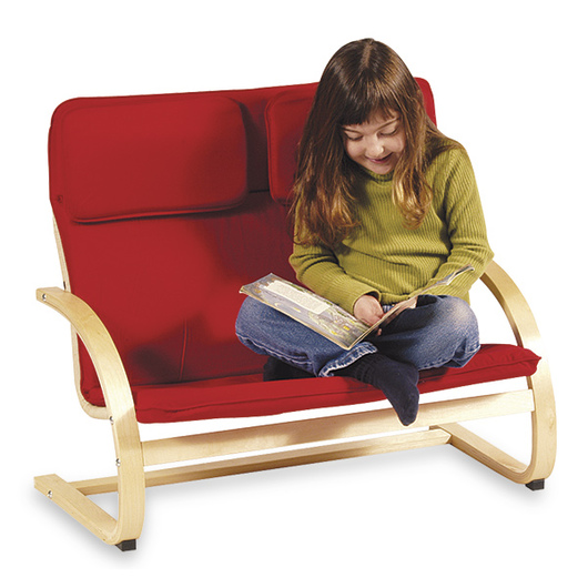Nasco Kiddie Couch - Red