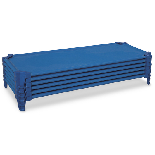 Unassembled Premium Stackable Cots - Case of 6