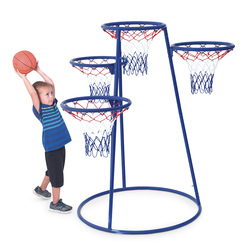 4-Ring Basketball Stand