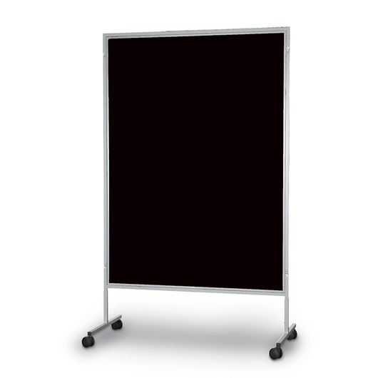 The Miller Group Portable Display Panel - Black Fabric - 48 in. x 80 in.