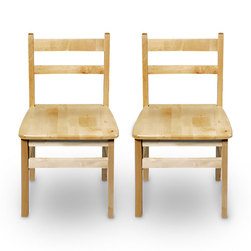 Nasco Wooden Chairs
