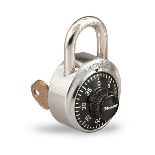 Master Lock® #1525 Combination Padlock with Control Key Feature
